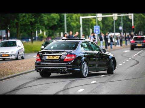 BEST of Mercedes AMG Sounds 2017 !  Burnouts, Drifts, Revs & Accelerations