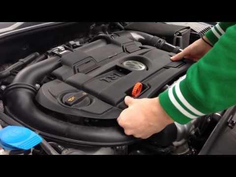 How to remove Engine Cover on VW Golf/Polo/Passat/Scirocco/Tiguan/Tuareg/Jetta [HD]