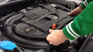 How to remove Engine Cover on VW Golf/Polo/Passat/Scirocco/Tiguan/Tuareg/Jetta [HD]