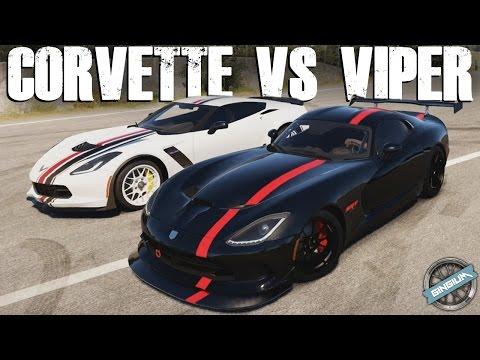 RIVALS BATTLE || 2015 Corvette Z06 - VS - 2013 Viper GTS || Forza Horizon 2