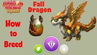 How to Breed Fall Dragon ? - VIP Hatching 1 Day & 22 Hours - Dragon Mania Legends | part 1194 HD