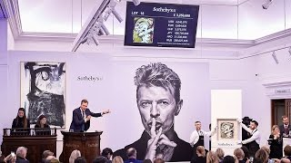 Bowie Delivers a Record-Breaking Night for British Art