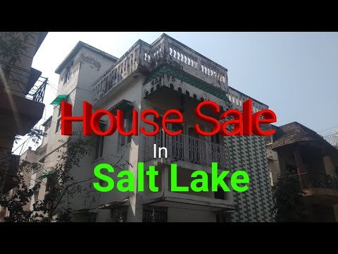 "Duplex Bungalow ""House"" (G+1) For Sale In Salt Lake @1.4 CR ( 2.3 Kottah Land)"