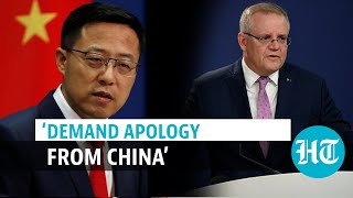 'Chinese govt should be ashamed': Australian PM hits out over 'repugnant' tweet