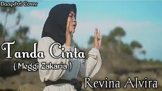 Download Tanda Cinta ( Meggi Zakaria ) -Revina Alvira !! Cewek cantik bersuara merdu(Dangdut cover)