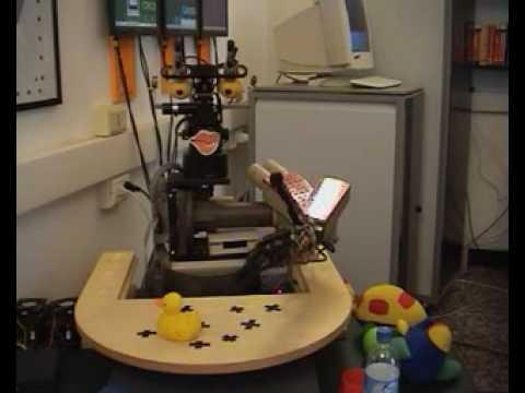 Baby robot learns like a human