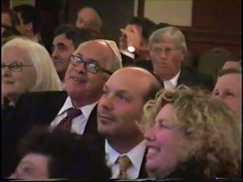 Elie Wiesel at Solon Chabad Dinner October 17, 2004