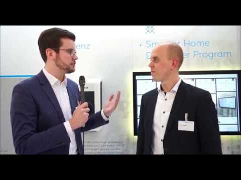 busch jaeger auf der light building 2018 smart home developer programm youtube. Black Bedroom Furniture Sets. Home Design Ideas