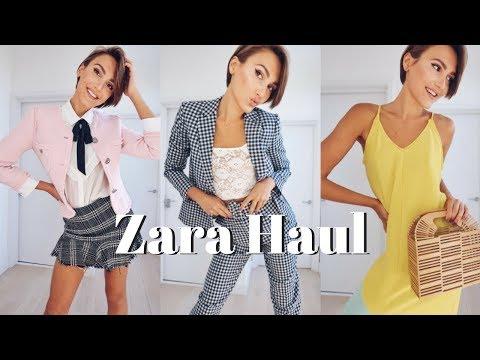 ZARA HAUL & TRY ON - SPRING SUMMER CLOTHING | Blaise Dyer