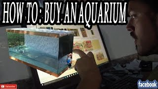 How To: Buy an Aquarium, HOW TO FIND THOSE GREAT DEALS(Buying an Aquarium DOESN'T HAVE TO BREAK THE BANK. Be resourceful. There are good deals out there everywhere waiting to be snatched up. I've bought ..., 2015-10-04T11:30:01.000Z)