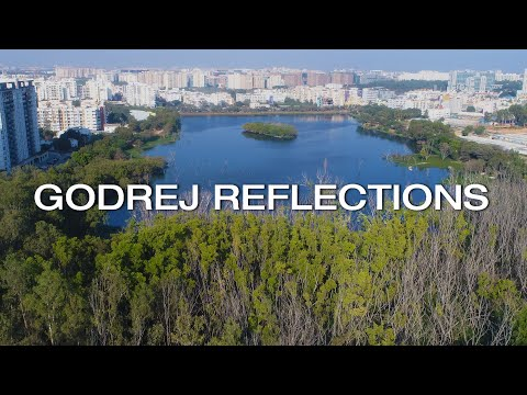 Godrej Reflections Bangalore Drone Video 4k