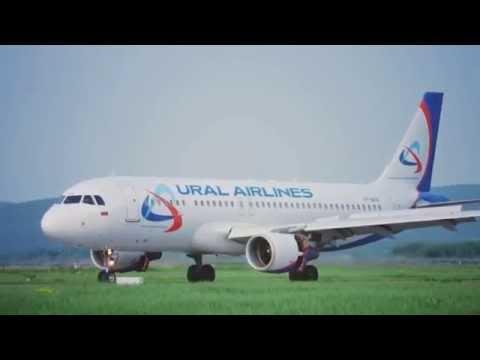 Уральские авиалинии - парк самолетов и схемы расположения мест