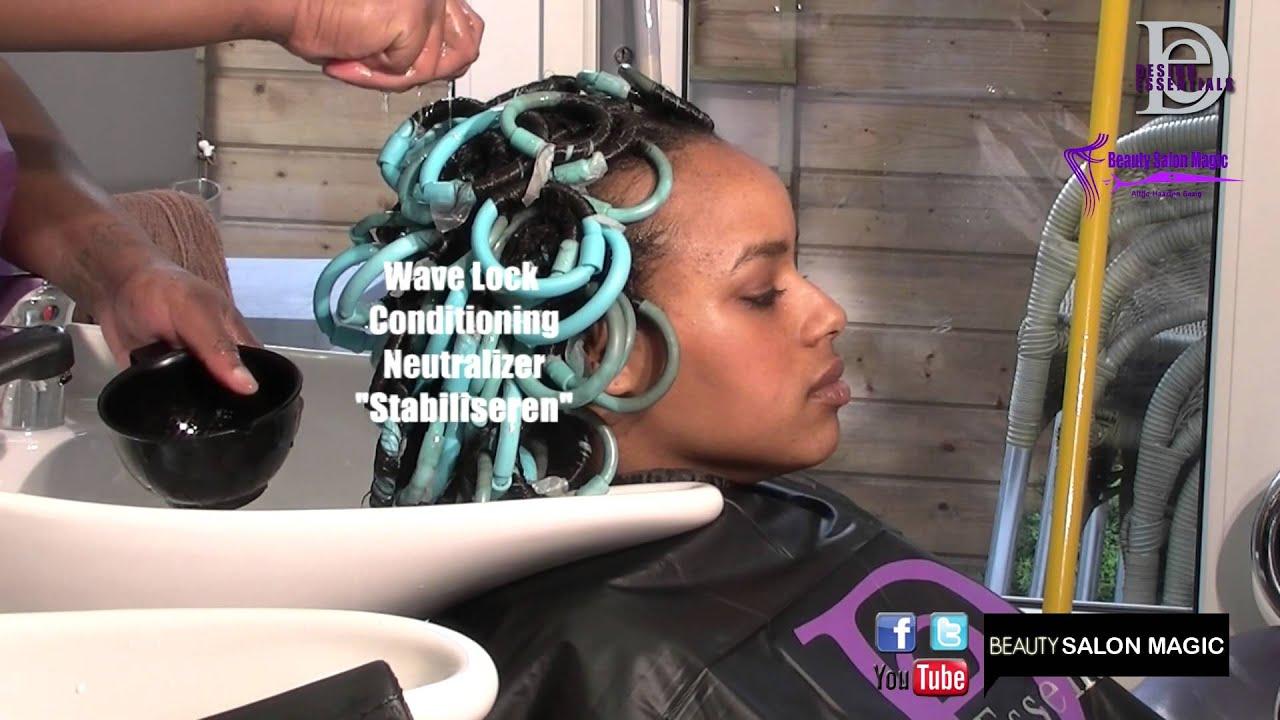 Beauty Salon Magic Curly Behandeling Design Essentials Eva Youtube