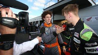 Matheus Leist becomes the 2016 BRDC British F3 Champion