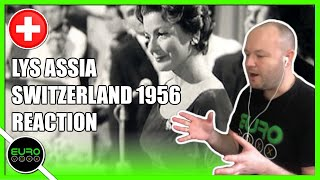 🇨🇭 FIRST EUROVISION WINNER REACTION! SWITZERLAND 1956: Lys Assia - Refrain | ANDY REACTS!