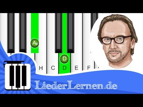 Westernhagen - Wieder hier - Klavier lernen - Musiknoten - Akkorde