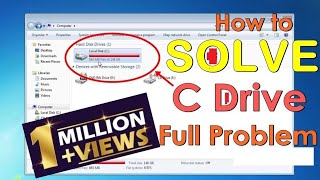How to solve automatically C drive full problem