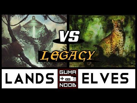 Legacy - LANDS vs ELVES (LRS/E3 - Round 7/7)