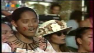 "American Samoa- ""  Farewell song in Noumea """
