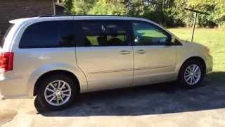Dodge Grand Caravan 2013. Обзор.