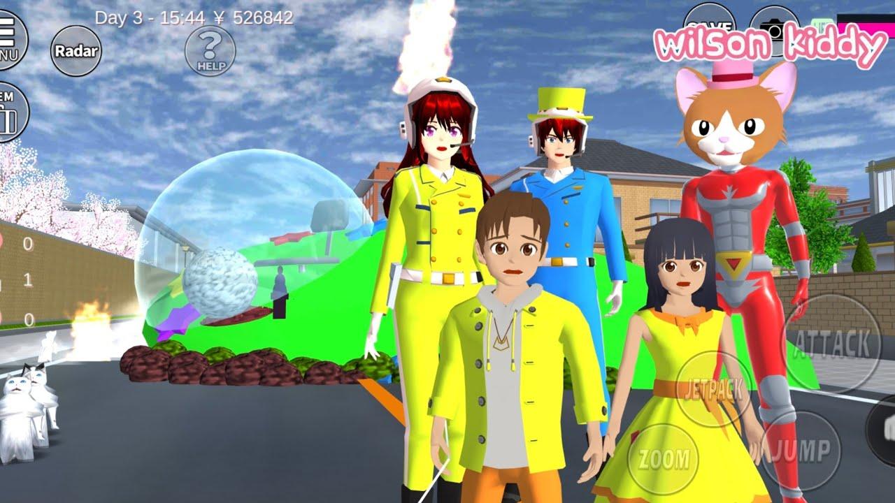 Download Polisi Sakura Cari Ranger Cat Butler Pencuri Kucing 😭😱   Sakura Simulator   Game Wilson Kiddy