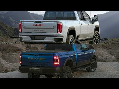 Underneath the New 2020 GMC 3500HD Sierra AT4 Denali Crewcab Pickup Truck [4K]