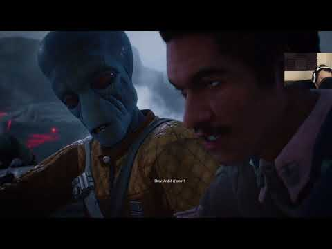 Star Wars Battlefront II Campaign pt18 - Cloud Car Combat and Lootcrates Earned