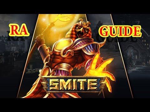 видео: smite  РА гайд  и геймплэй 2017/ra guide and gameplay