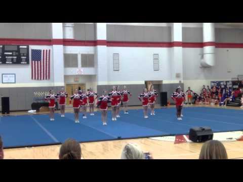 East Rowan High School - State Cheer Competition - Feb 2014 - 2nd place