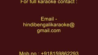 Barsaat Ke Din Aaye - Karaoke - Barsaat (2005) - Kumar Sanu & Alka Yagnik