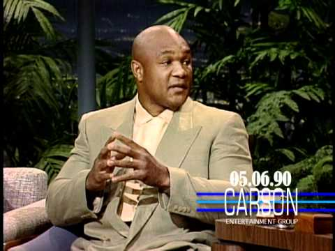 George Foreman Talks About Joe Frazier on Johnny Carson's Tonight Show