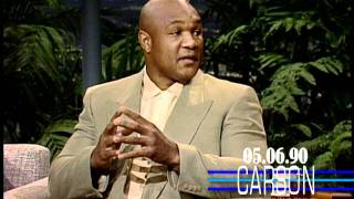George Foreman Talks About Joe Frazier on Johnny Carson