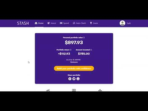 Stash Invest Review after 8 months of investing