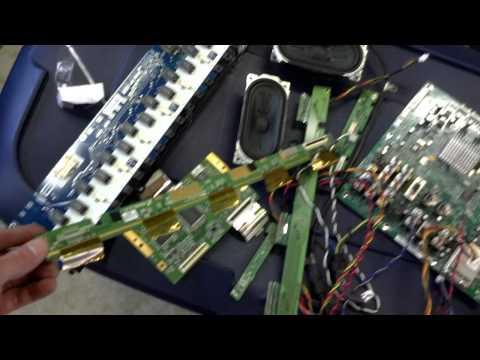 E-scrap: scrapping a 40 inch Sony LCD TV