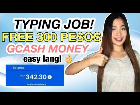 EARN 300 PESOS GCASH MONEY SA TYPING JOB NA TO! EASY LANG