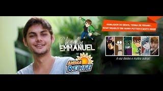 [COMPLETO] AnimaRecife 2014 Sábado Charles Emmanuel Dublador do Roni - Ben 10 - Rigby