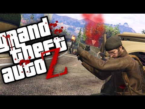 GTA V ZOMBIES - TRETA Pelo AIR DROP Com Os MILITARES | Ep06 (GTA 5 Survival Zombie MOD)