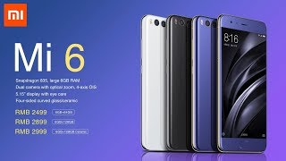 xiaomi mi 6 blue unboxing first look