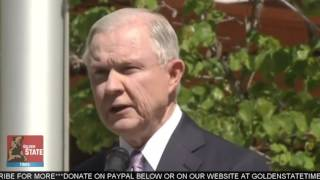 AG JEFF SESSIONS SLAMS MEDIA ON BORDER SECURITY AND LAYS DOWN THE LAW!!! Free HD Video