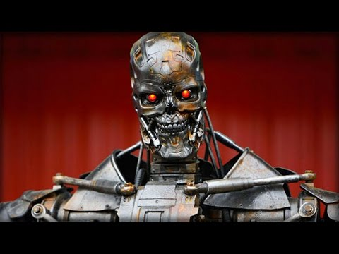 SCIENTISTS MAKE HUGE BREAKTHROUGH WITH TERMINATOR ARMY ROBOTS