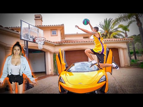 I Tried to Jump Over MY MCLAREN 570S & IT ENDED LIKE THIS...
