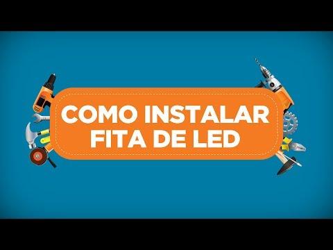 Como instalar fita de LED - Reparo num ZAP