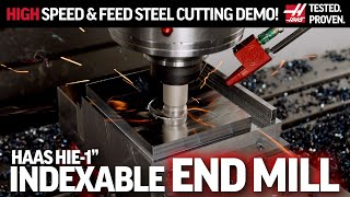 HaasTooling HIE Indexable End Mill at Full Speed - HaasTooling In Action - Haas Automation Inc.