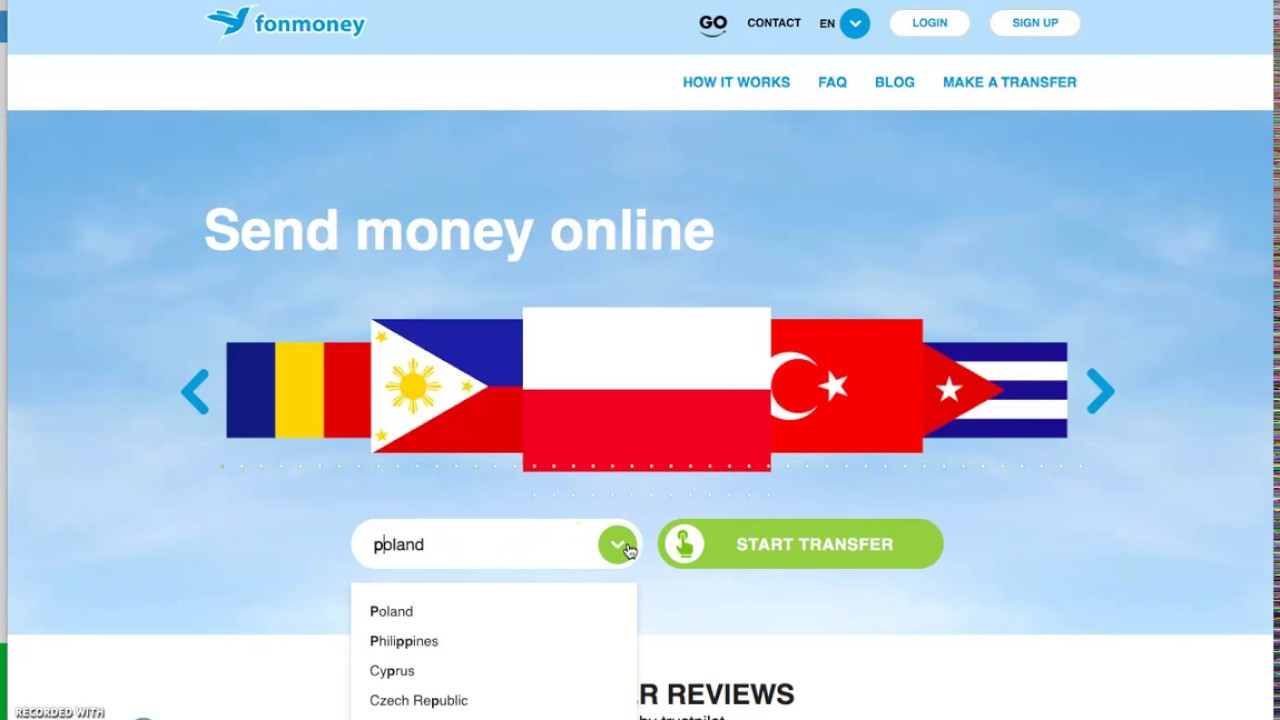Recharge Philippines mobiles online from India | Fonmoney