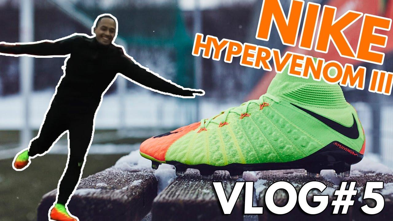 b18bc2d32 VLOG#5 - On a testé la Nike Hypervenom III à Munich avec Cavani, Higuain,  Lewandowski !