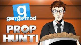 GMod Prop Hunt! - PIE FACTORY OF DEATH! (Garrys Mod Funny Moments)