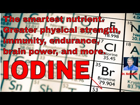 Iodine. Makes you smart, strong, endurance goes up, detoxes.