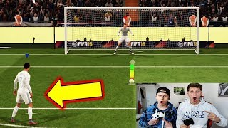 FIFA 18 DEMO - ULTRA SPANNENDE 11 METER CHALLENGE! ⚽🔥⛔️ FifaGaming vs Bruder - Ultimate Team Deutsch