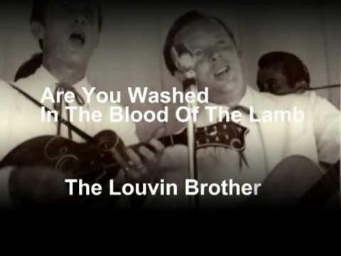 Are You Washed In the Blood? Lyrics