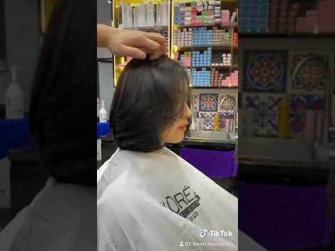 Tóc ngắn dành cho mặt tròn to